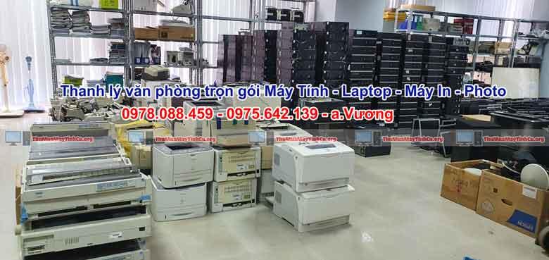 Hiệp Đạt thanh lý văn phòng trọn gói gồm các thiết bị máy tính, laptop, máy in, photo. fax